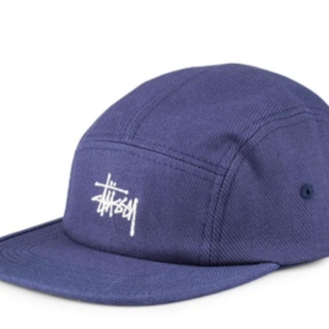 175782e7b56 Stussy Basic Logo Camp Cap
