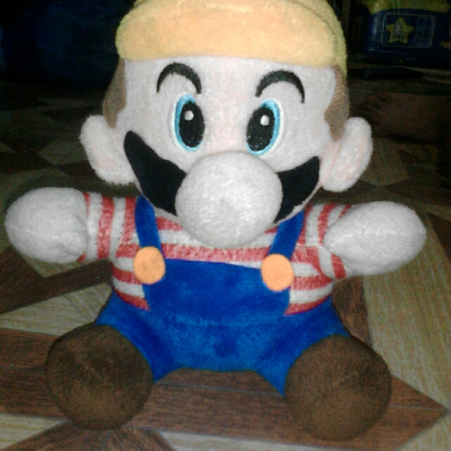 Super Mario Stuff Toy