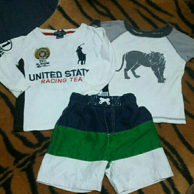 TAKE 3 PRELOVED BOY'S APPAREL (2Y)