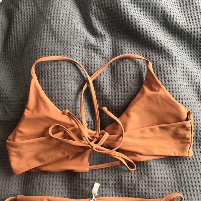 Tan Bikini Size 8/10