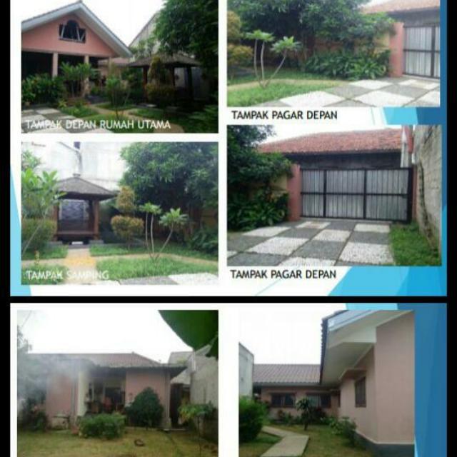 Tanah + Rumah Tinggal + 5 Kontrakan