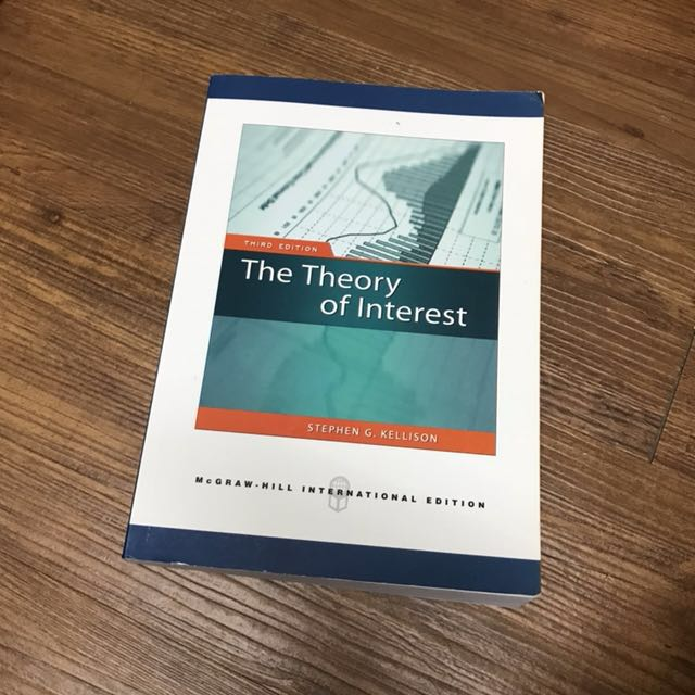 The Theory of Interst(Third Edition)