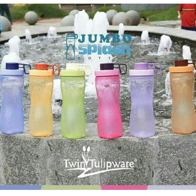 Twin Tulipware Bottle Splash