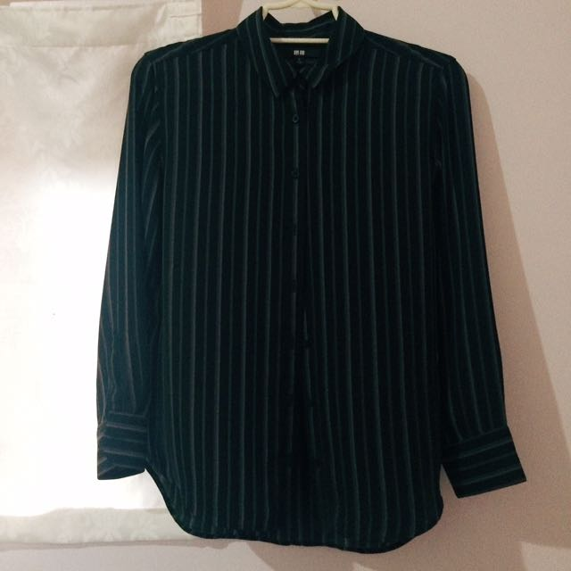 Uniqlo Striped Polo