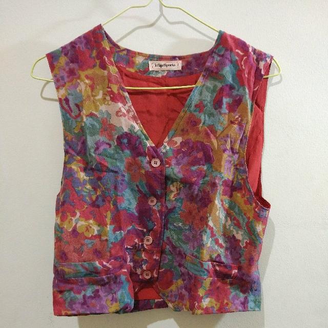Vintage Colourful Vest