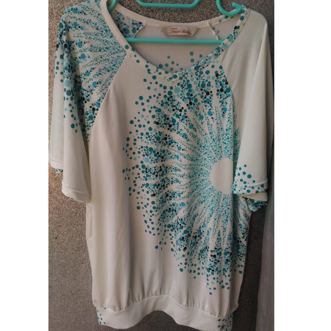 White tosca batwing