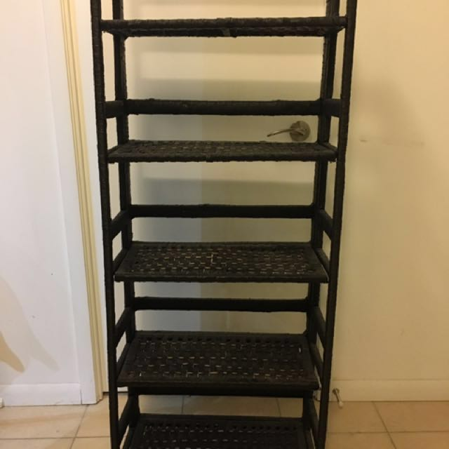 Wicker Shelf Stand (5 tier)