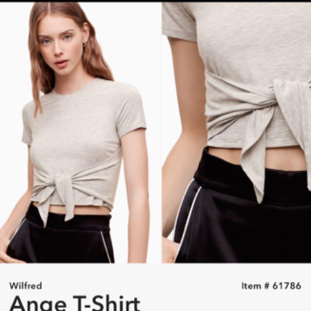 Wilfred Ange Tie Tee Shirt