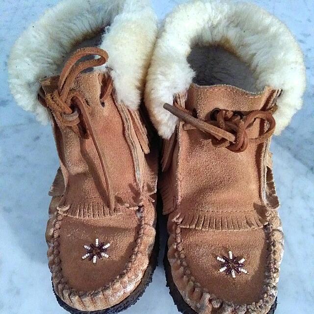 Winter Lowerise Fur Booties