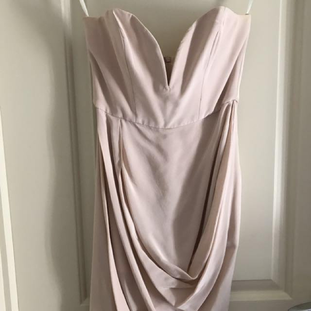 Zimmerman 100% Silk Mini Plunge Dress