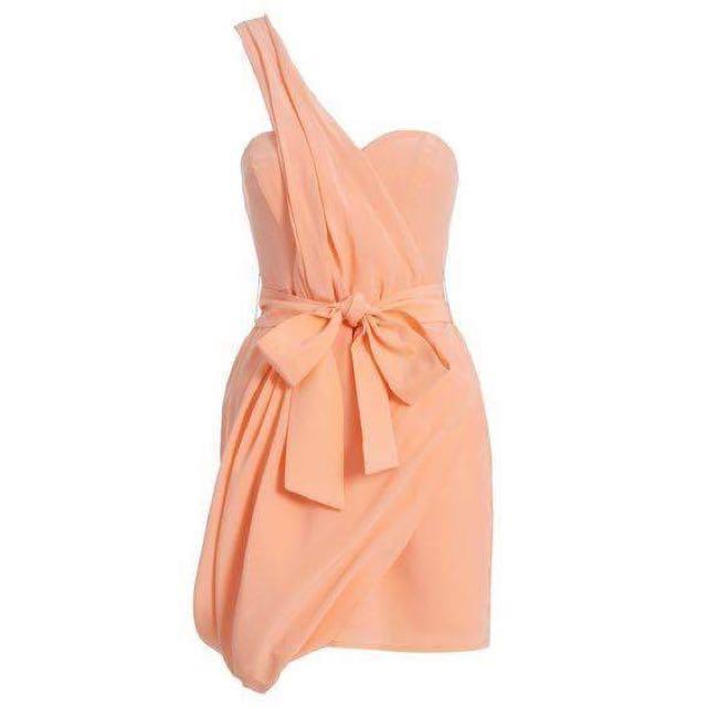 ZIMMERMANN Dress Size 2 - Peach Colour