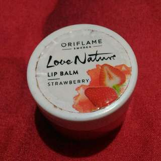 Oriflame Lip Balm Strawberry