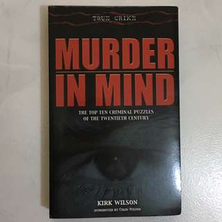 MURDER IN MIND, TOP 10 CRIMINAL PUZZLES OF THE 20TH CENTURY