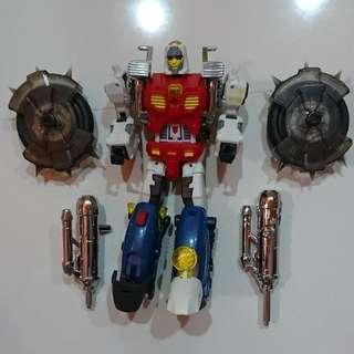 Gobots robot motorcycle cy kill