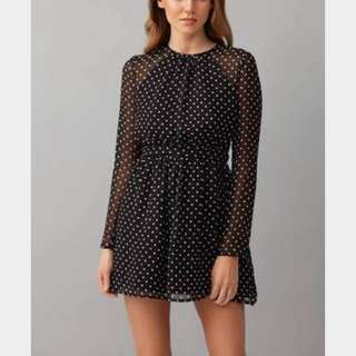 Kookai Polka Dot Dress - brand new