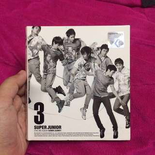 Super Junior [The 3rd Album, SORRY SORRY]