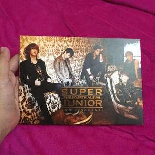 Super Junior [The 4th Album, BONAMANA]