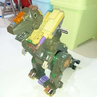 transformers g1 vintage tryticon robot base