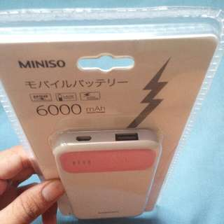 Original Miniso powerbank