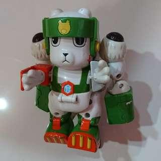 Digimon snow bear transformers robot figures