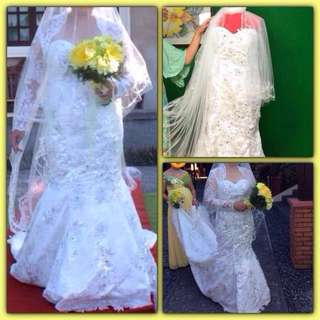Preloved Wedding Dress (by: Erwin Gonzales)