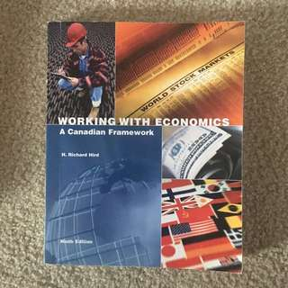 Working with Economics ninth edition