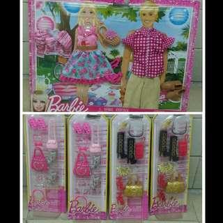 🈹🈹🈹減價! 全新Barbie 公仔衫 鞋 手袋 配飾