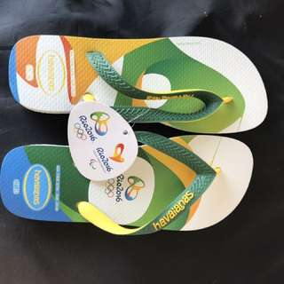 Brand New havaianas flip flops from brazil - Size 7/8W, 6/7M