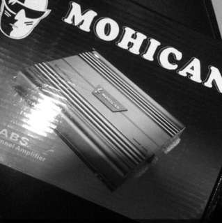 Mohican 2 channel amplifier
