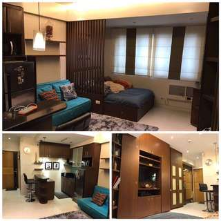 FULLY FURNISHED Studio w/ Parking at Morgan Suites Mckinley Hill Taguig
