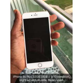 IPhone 6s Plus 32GB 9/10condition