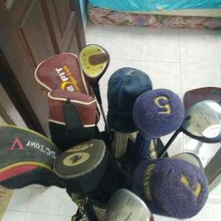 set golf untuk dilepaskan(left handed only) hanya untuk orang kidal