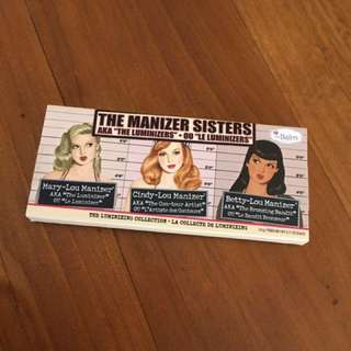 The Balm Manizer Sisters Palette