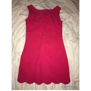 Vintage Pink Dress size 6
