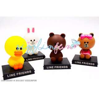 Line Friends Shaking Doll for Car*