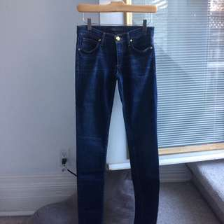 Juicy couture dark wash jeans