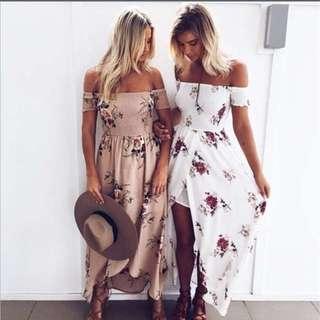 Boho beach dress new