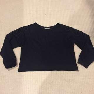 Size L - Mendocino Cropped Sweatshirt