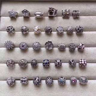 Pandora Charms 925 Sterling Silver