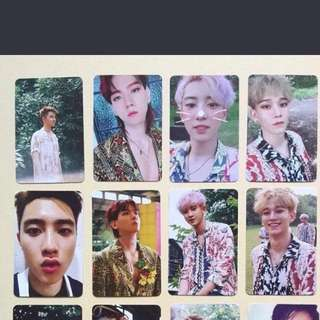 EXO The War Photocards and Postcards (Replica)