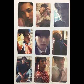 EXO Love Me Right Photocards