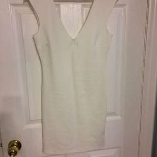 Forever 21 white dress size medium
