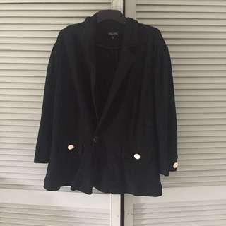 City Chic Plus Size Black Blazer