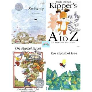 FREE delivery★  BN: Picture Book - Swimmy, Alphabet Tree, Kipper's A to Z, Market Street
