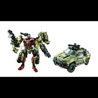 Transformers Deluxe Brawn (Movie)