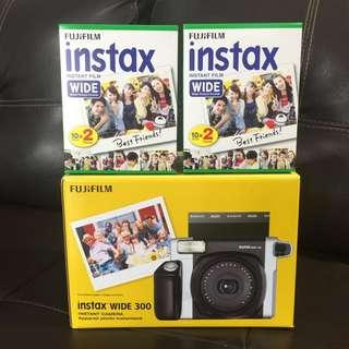 Fujifilm Instax Wide 300 Instant Film Camera (non digital, not mini)