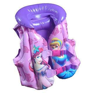 Princess safety life jacket for 2-5 years old children