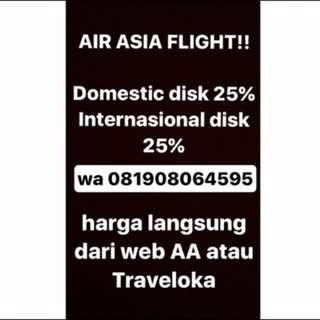 AIR ASIA DISKON 25%