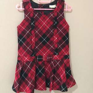 Checked dress Children's place (US brand)