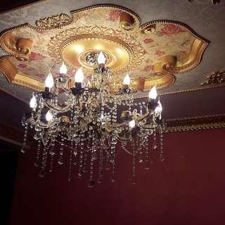 lampu lighting chandelier